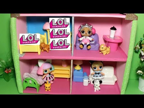 видео: Домик для кукол  lol surprise