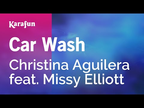 Karaoke Car Wash - Christina Aguilera *