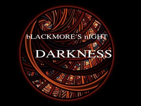 DARKNESS  (With Lyrics) -  Blackmore's Night