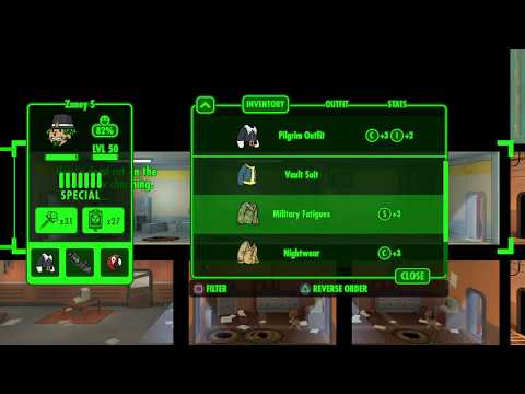 Fallout Shelter Thanksgiving Quest