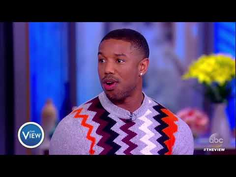 Michael B. Jordan Talks 'Black Panther' Success, Work That Went Into Role   The View