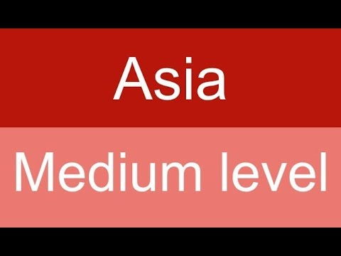 Countries and capitals quiz - Asia - Level: Medium