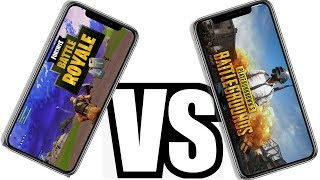Fortnite Mobile vs PUBG Mobile - Gameplay Graphics - Inviter les codes