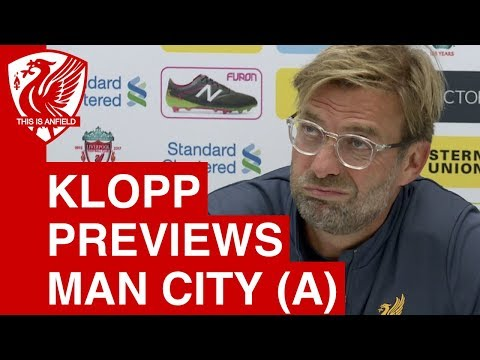 Man City vs. Liverpool - Jurgen Klopp Pre-Match Press Confer