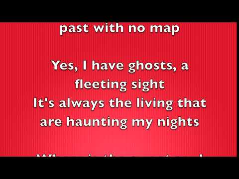 David Gilmour - Yes I Have Ghosts [Full Song Lyrics]