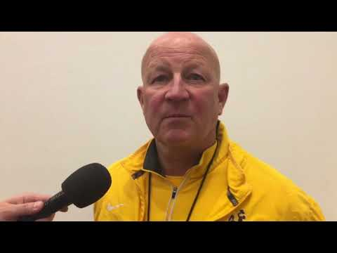 Craig Bohl discusses Wyoming's 10th spring football practice