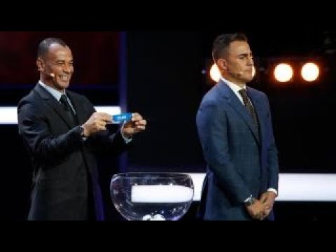 2018 FIFA World Cup draw results
