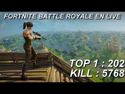 [FR/PC/LIVE] Fortnite  en solo 202 wins!