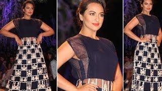 Sonakshi Sinha Walks For Manish Malhotra at LFW 2014 Opening Day | Full