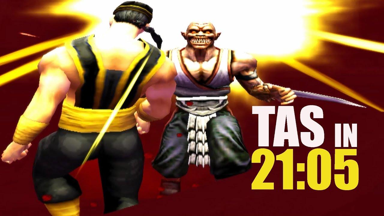 [TAS] Mortal Kombat Shaolin Monks - Baraka (PS2)
