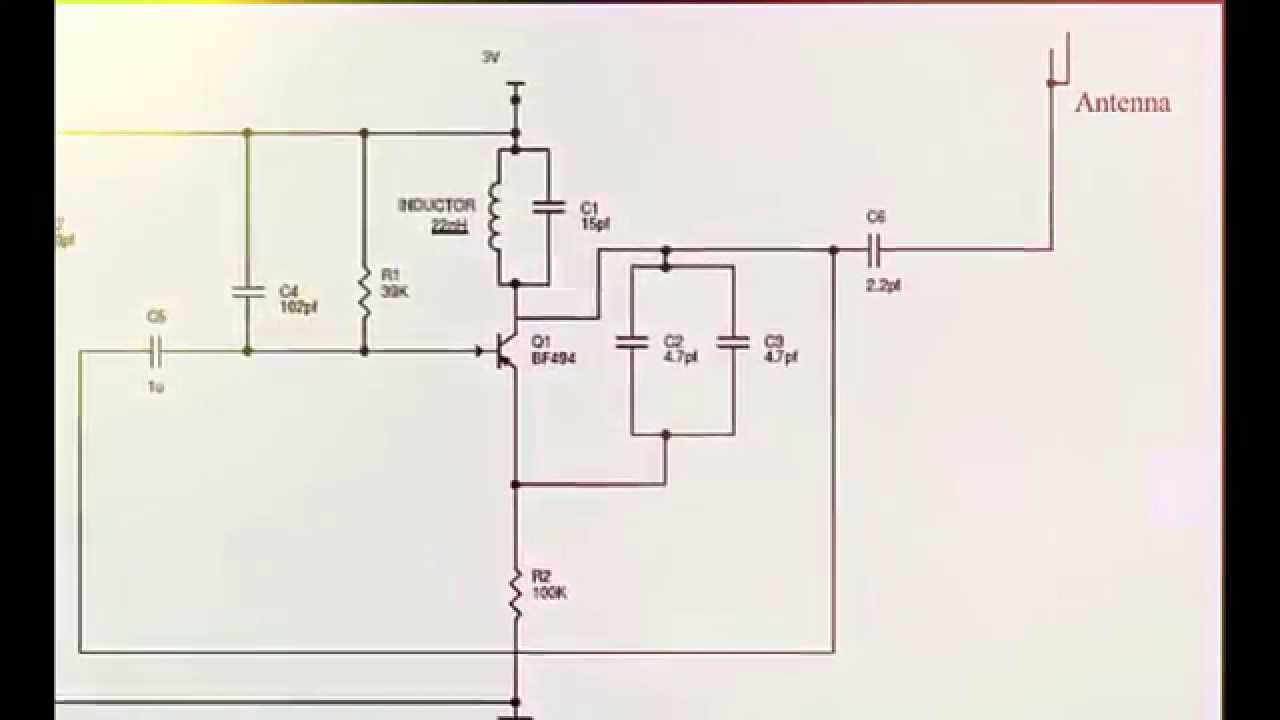 Efy Circuits Diagrams | Simple Mobile Phone Jammer Circuit Diagram Jammer Electronic Youtube