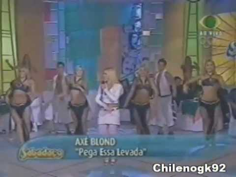 ax blond pega essa levada