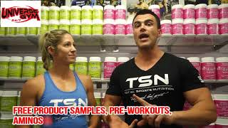 UNIVERSE GYM CALOUNDRA | TOTAL SPORTS NUTRITION PRODUCT LAUNCH