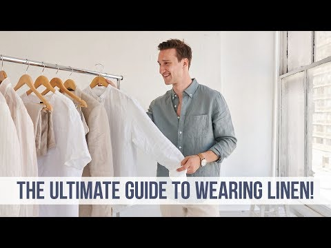 EVERYTHING You NEED to Know About Linen | Men's Style Guide