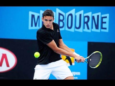 Egor Gerasimov vs Matteo Berrettini Andria Challenger 2016 Semifinal Highlights