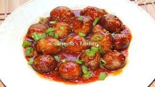 Schezwan Mushrooms Manchurian Air Fryer Video Recipe   Bhavna