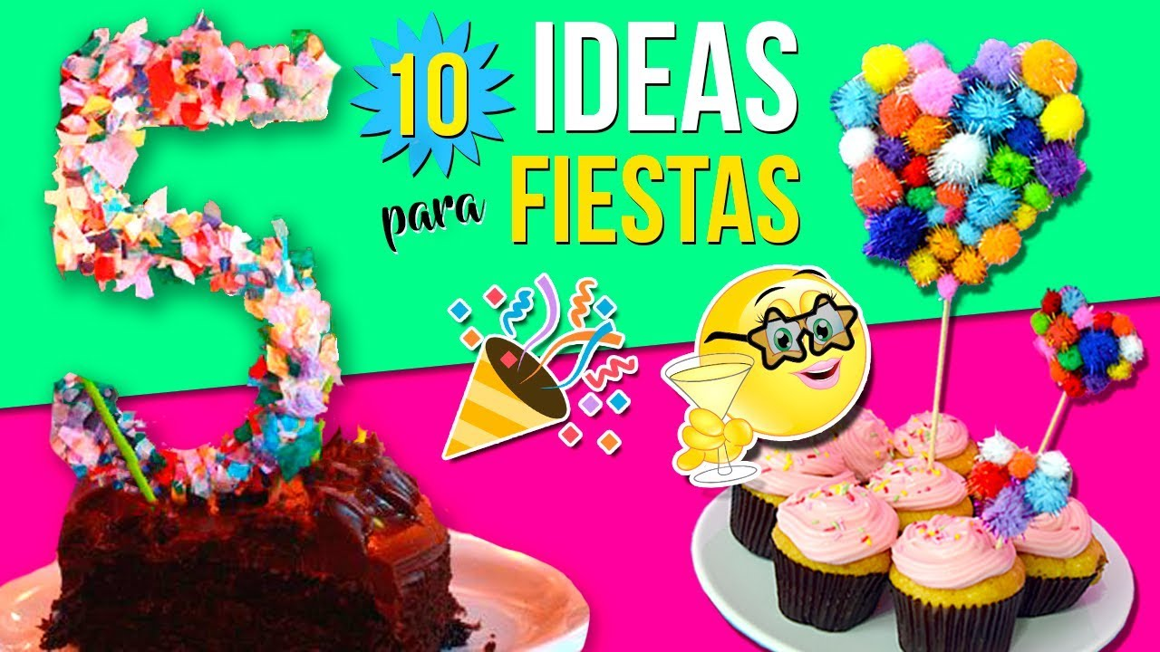 10 ideas para fiestas infantiles decoraciones f ciles for Decoraciones faciles y economicas