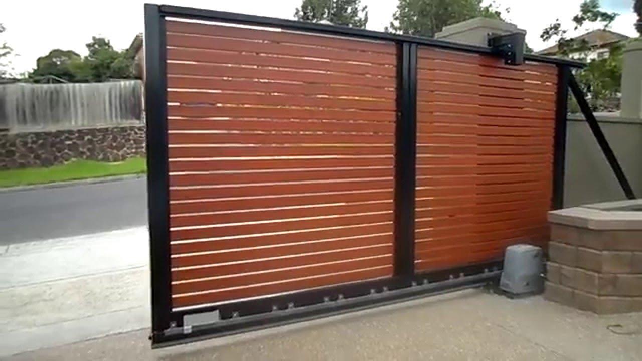 Cantilever Sliding Gate Youtube