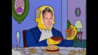 Steamed Hams but Superintendant Chalmers is Gordon Ramsay
