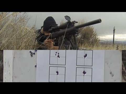 4 of 5 Accurizing a CZ 455 Tacticool 22 LR (Shooting Groups)