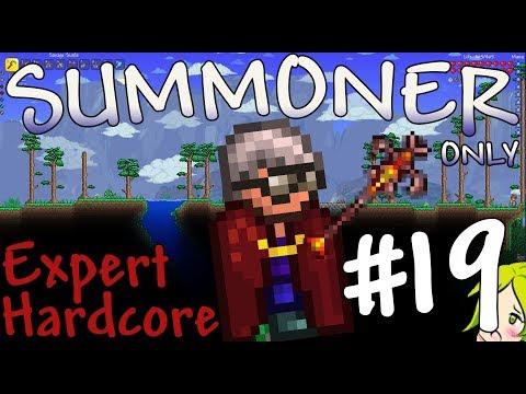 Terraria Expert Hardcore Summoner Only #19