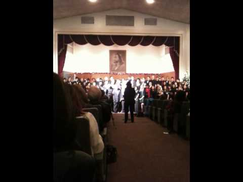Newbury Park Adventist Academy Christmas program