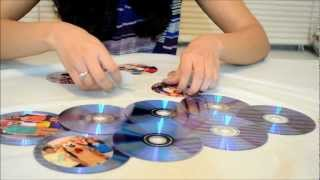 How To Make a Photo Frame Out of Waste CDs