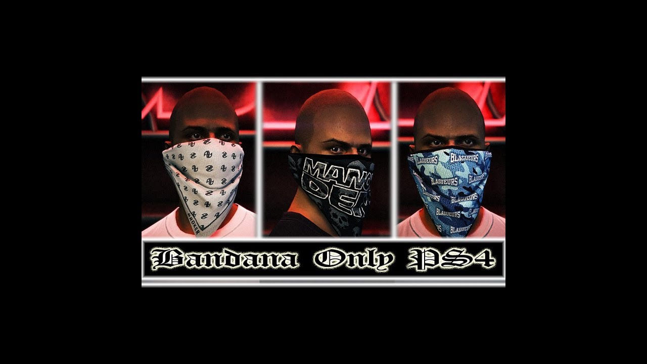 ea051560388 GTA 5 BANDANA ONLY GLITCH AFTER PATCH 1.42 ON XBOX ONE CEO NEEDED ...