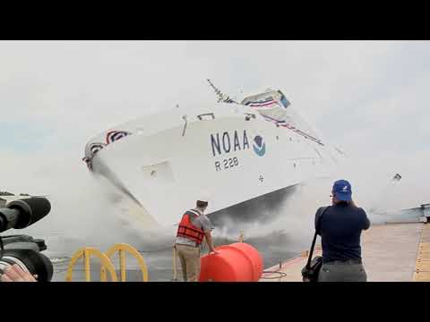 Ship Reuben Lasker- Christening and Launch | NOAA | June 16, 2012