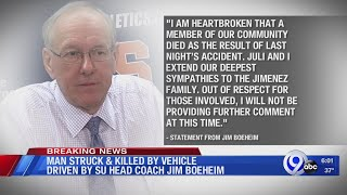 Jim Boeheim involved in accident that killed man Wednesday night