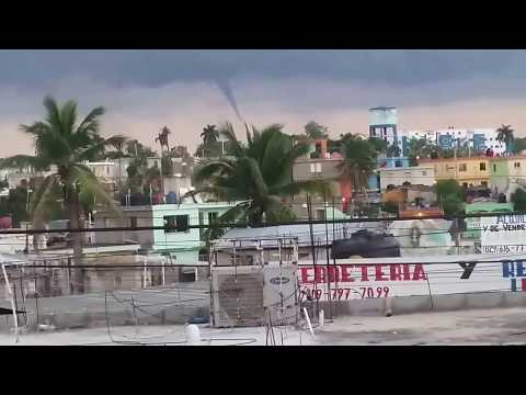 Tornado Haina, Santo Domingo Oeste. República Dominicana