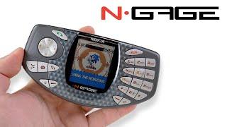 Распаковка новой Nokia N-Gage из 2003 - первая игровая консоль телефон. Ее хотел каждый миллениал!