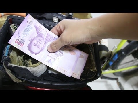 How to HIDE MONEY While TRAVELING, cycling alone the world | TRAVEL TIPS