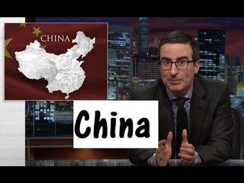 John Oliver: China building Island like never before