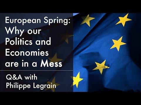 Anti-EU parties, social inequality & Angela Merkel's United Europe   Philippe Legrain (2015)