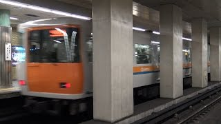 【4K】響くVVVFサウンド!近鉄7000系・7020系、大阪市営地下鉄中央線20系更新車・24系更新車到着・発車シーン集