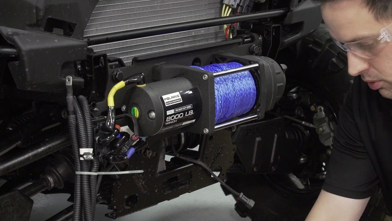 VIDEO: Ranger XP® 1000 Winch Installation | Polaris RANGER on