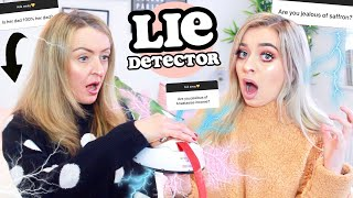 EXTREME LIE DETECTOR TEST WITH MY MUM! The TRUTH gets revealed...