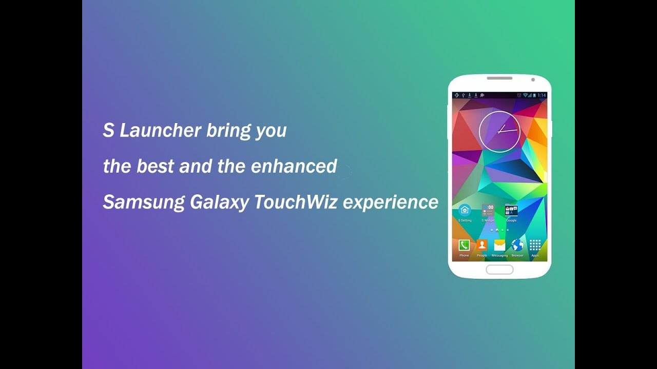 S Launcher Prime Galaxy S5 Launcher Full Android Apk DOWNLOAD