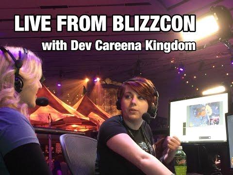BlizzCon floor Interview ft Senior Animator & New Heroes!