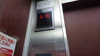 セーフティシューボロボロの日立製エレベーター thumbnail