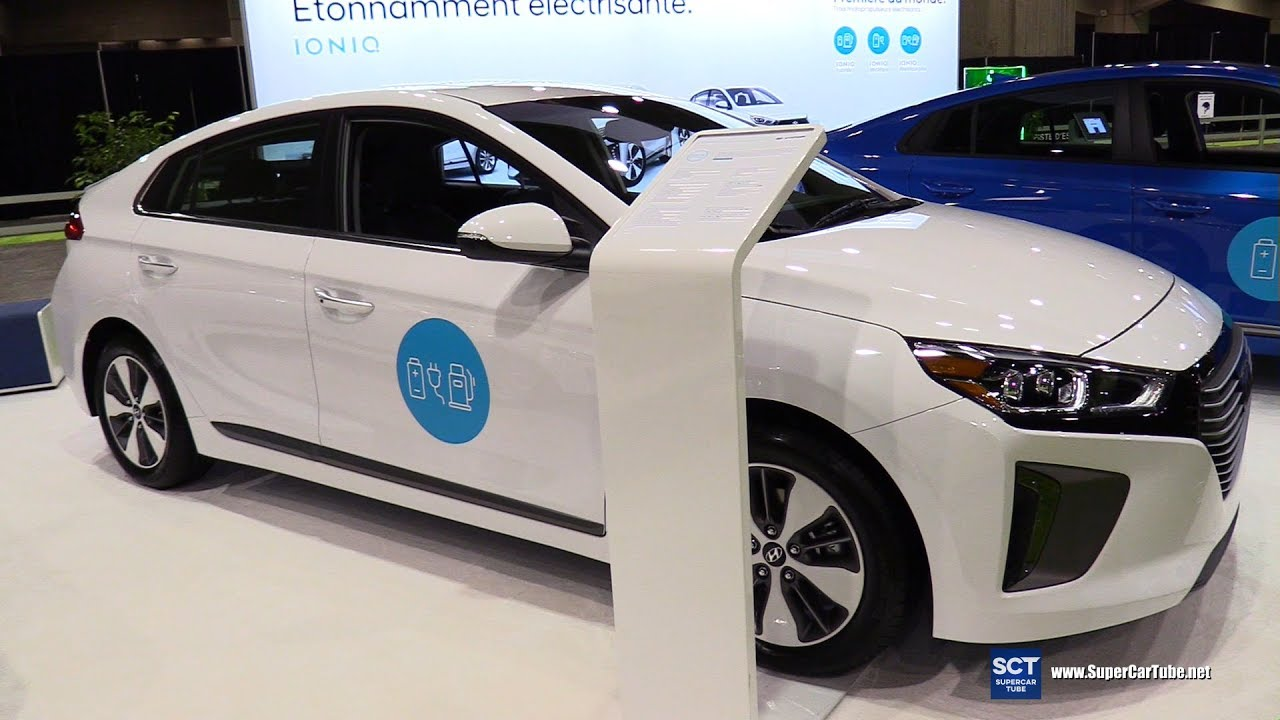 2018 hyundai ioniq electric. interesting hyundai 2018 hyundai ioniq electric limited  exterior interior walkaround 2017  montreal vehicle throughout hyundai ioniq electric i