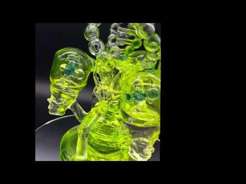 Stratisphere Glass Machined elves Glass Art