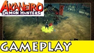 Akaneiro: Demon Hunters - OBT Gameplay [Commentary] [HD PC]