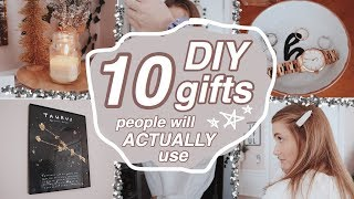 10 DIY CHRISTMAS/HOLIDAY GIFTS (that people can ACTUALLY use)