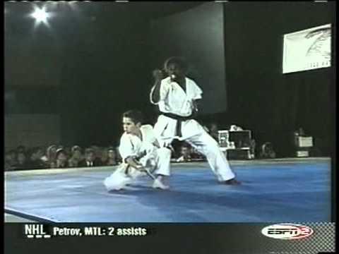 Ryan Pinkston In The ISKA World Martial Arts Championships