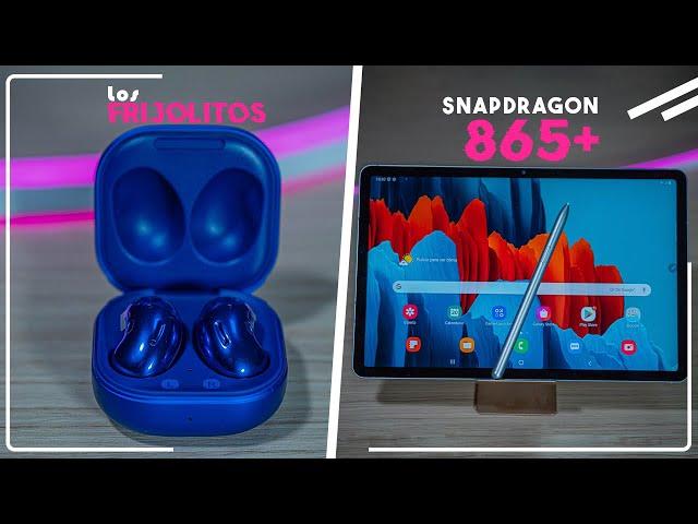 GALAXY BUDS LIVE & TAB S7│Primeras impresiones y configuración