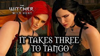 The Witcher 3: Wild Hunt - Threesome with Yen & Triss?