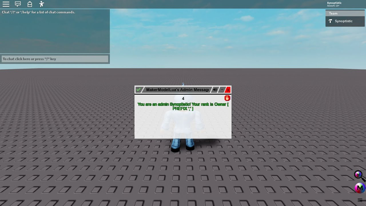 How To Fix Mml Admin Roblox Youtube