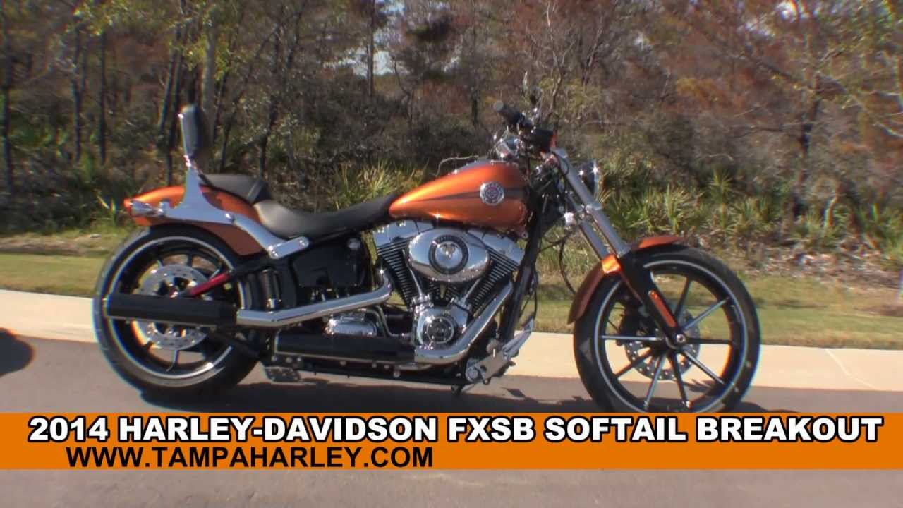 new 2014 harley davidson softail breakout motorcycle for sale youtube. Black Bedroom Furniture Sets. Home Design Ideas